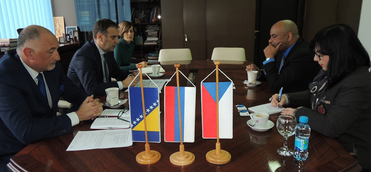 The Embassy of the Czech Republic and the Regional Chamber of Commerce of Banja Luka are working on strengthening economic cooperation