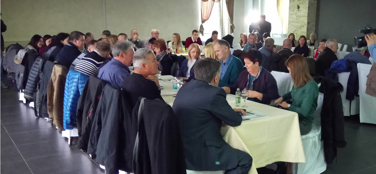Meeting in Prijedor