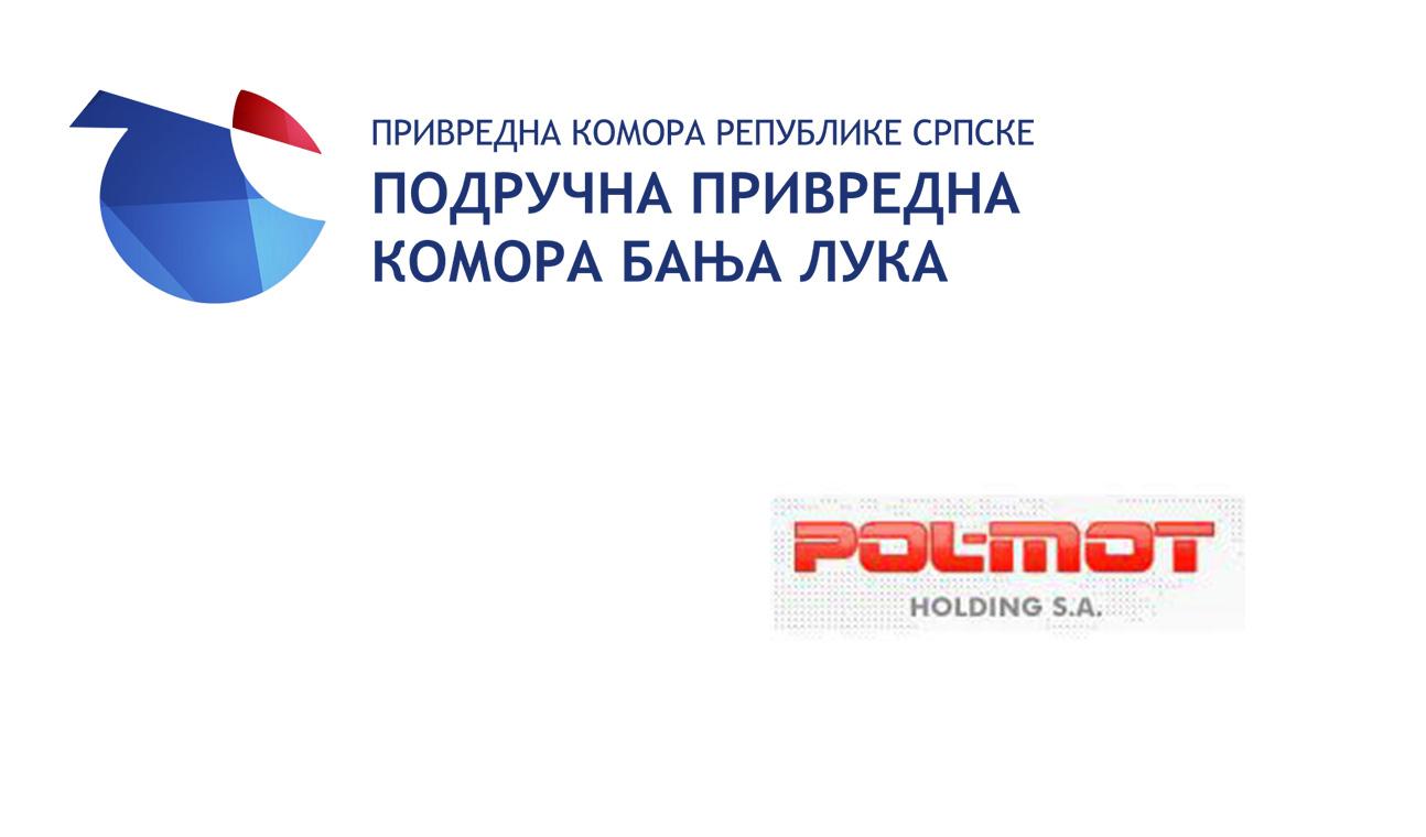 """Посјета предсједника ППК БЛ компанији """"ПОЛМОТ"""" из Варшаве"""