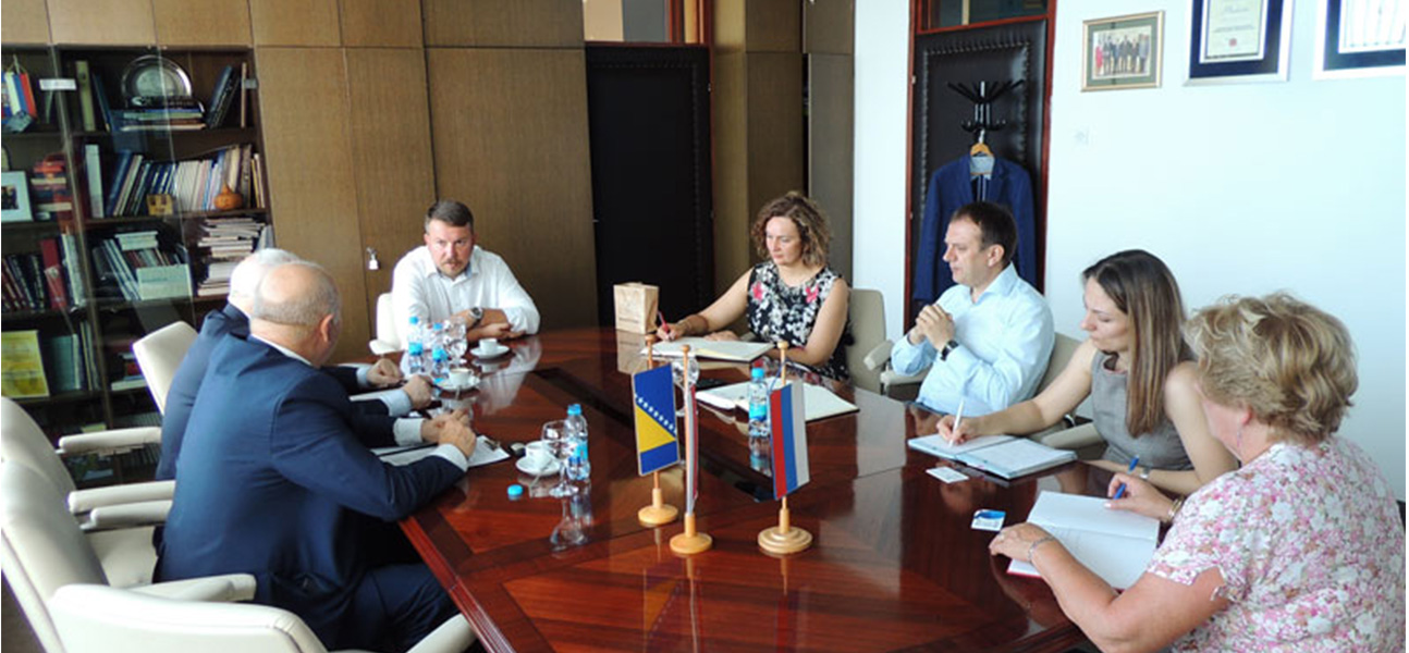 President of Chamber of Commerce and Industry of Bialymstok visiting Banjaluka