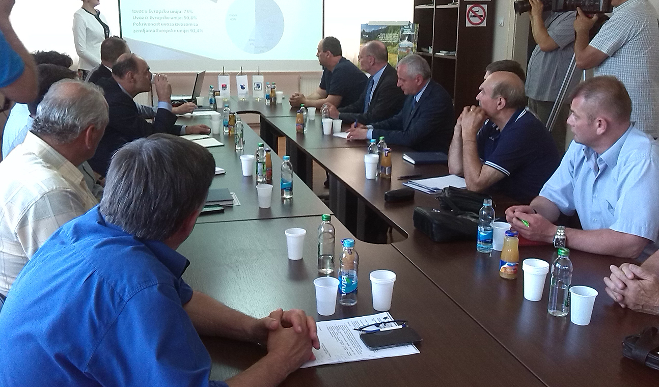 Generalni konzul Republike Srbije razgovarao sa privrednicima prijedorske regije