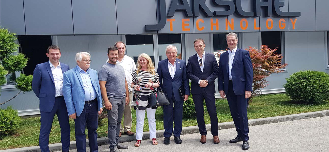 Delegation from Poland visiting companie